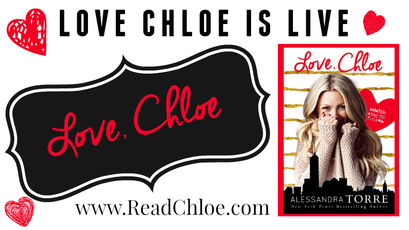 Release Blitz ~ Love, Chloe ~ by ~ Alessandra Torre
