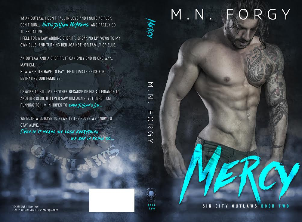 Cover Reveal ~ Mercy ~ by ~ M.N. Forgy