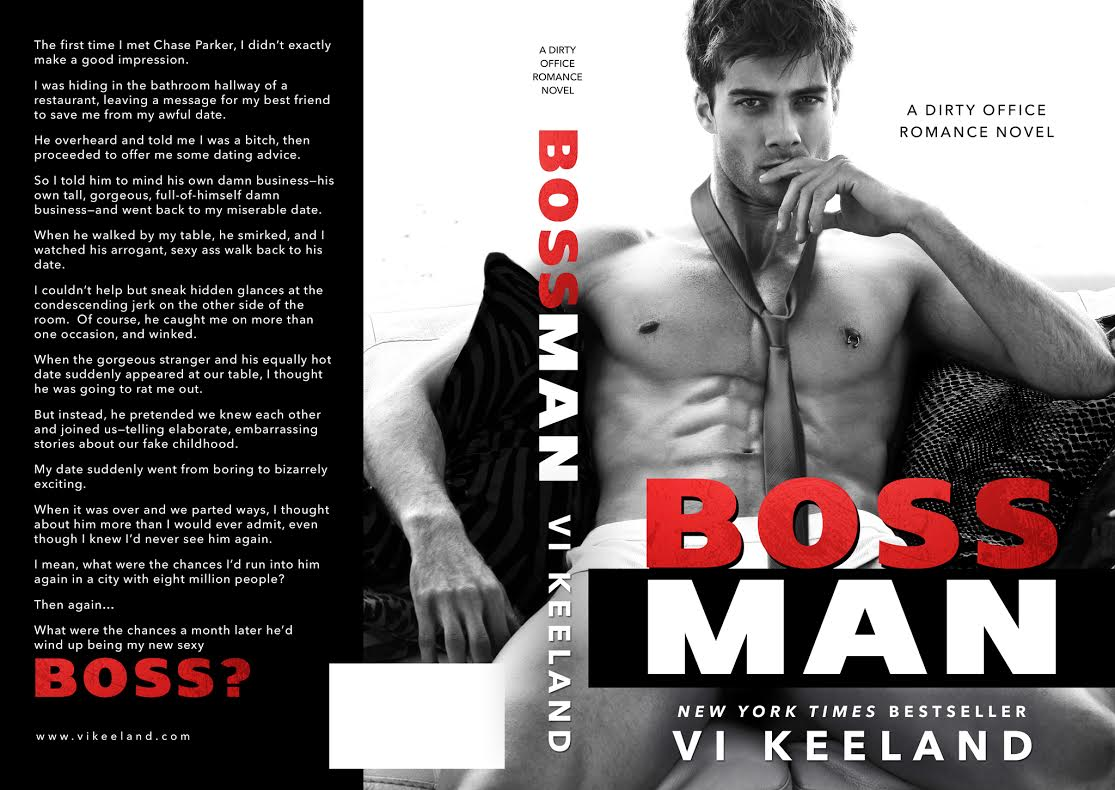 Surprise Cover Reveal ~ Bossman ~ by ~ ViKeeland
