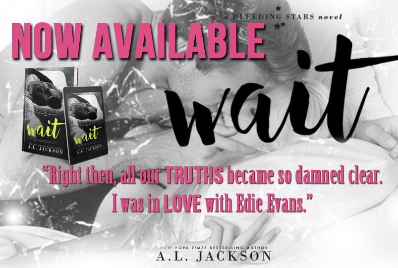 Book Tour & Review ~ Wait ~ by ~ A.L.Jackson