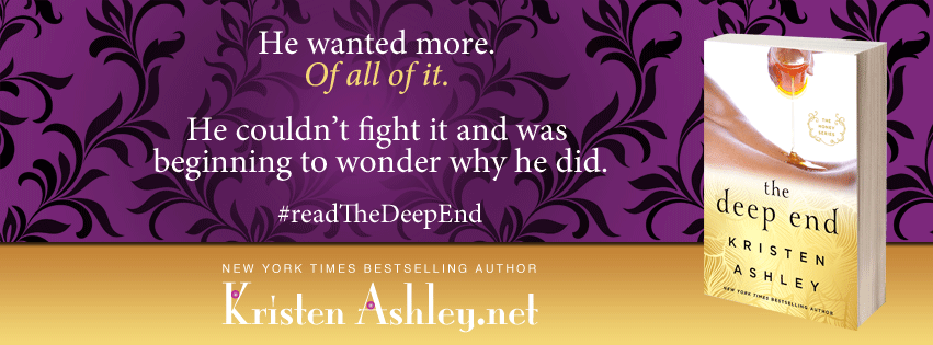 Trailer Reveal ~ The Deep End ~ by ~ Kristen Ashley
