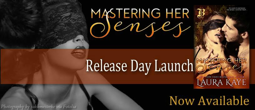 Release Day Launch & Review ~ Mastering Her Senses ~ by ~ Laura Kaye