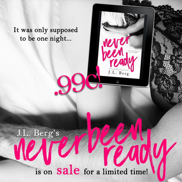 Sales Blitz ~ Never Been Ready ~ by ~ J.L.Berg