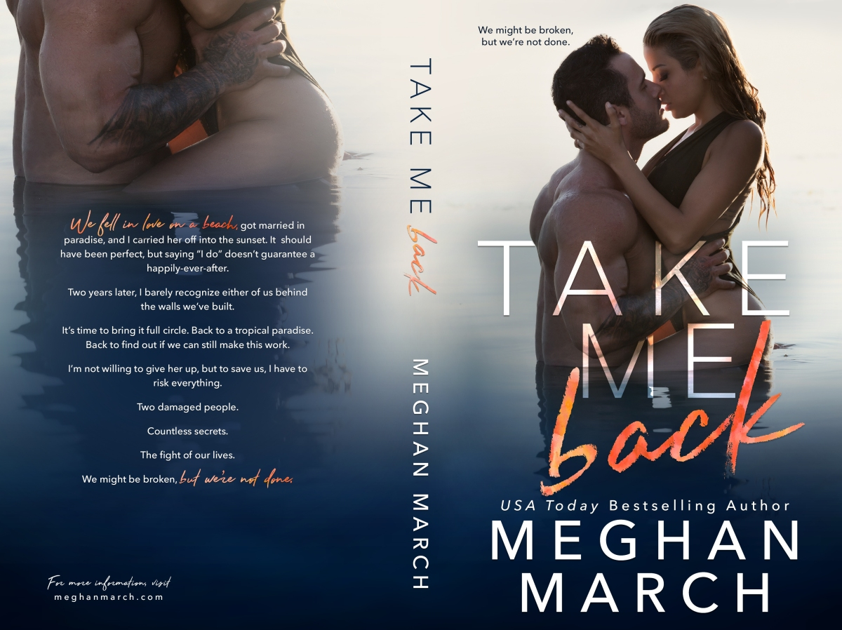 Cover Reveal ~ Take Me Back ~ by ~ Meghan March