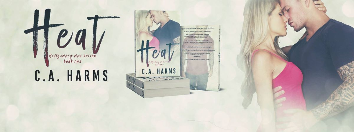 Cover Reveal ~ Heat ~ by ~ C.A. Harms