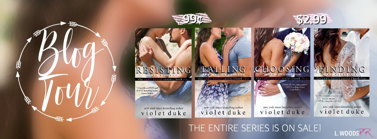 Blog Tour ~ Can't Resist Series ~ by ~ VioletDuke