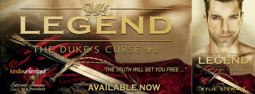Release Tour ~ Legend: The Duke's Curse #2 ~ by ~ KylieStewart
