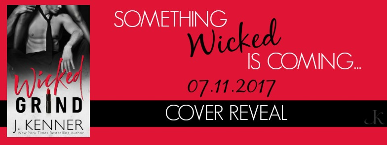 Cover Reveal ~ Wicked Grind ~ by ~ J. Kenner