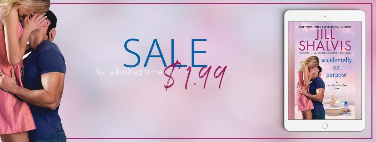 Sales Blitz ~ Accidentally On Purpose ~ by ~ JillShalvis