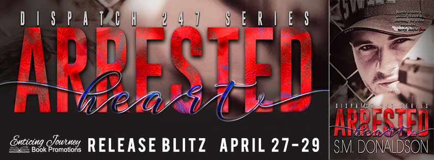 Release Blitz ~ Arrested Heart ~ by ~ S.M.Donaldson
