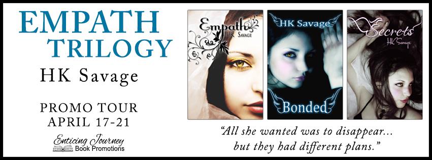 Promo Tour ~ Empath Trilogy ~ by ~ HKSavage