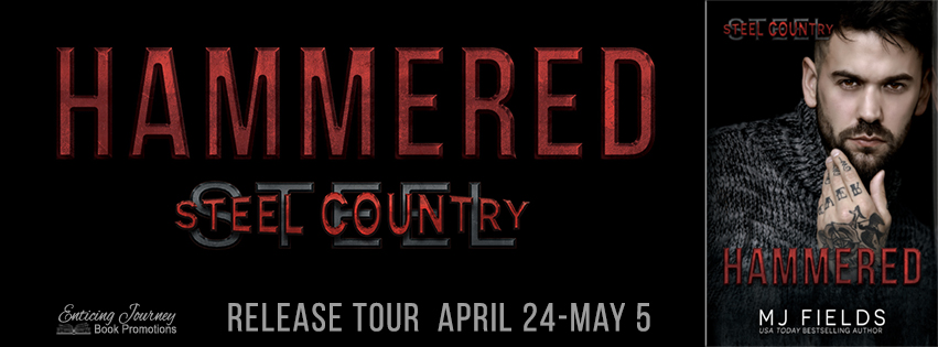 Release Blitz ~ Hammered ~ by ~ MJ Fields