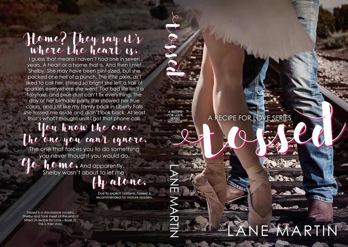 Cover Reveal ~ Tossed ~ by ~ Lane Martin